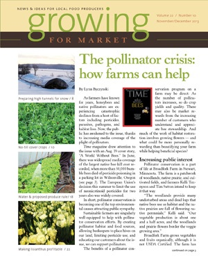 Broadfork Farm in Nov/Dec issue of Growing for Market!